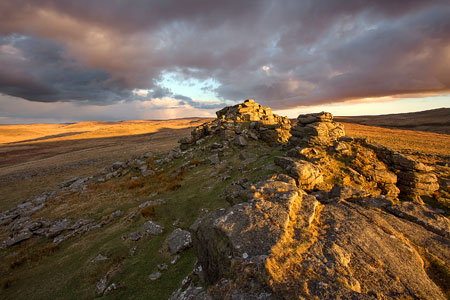 Sunset from West Mill Tor
